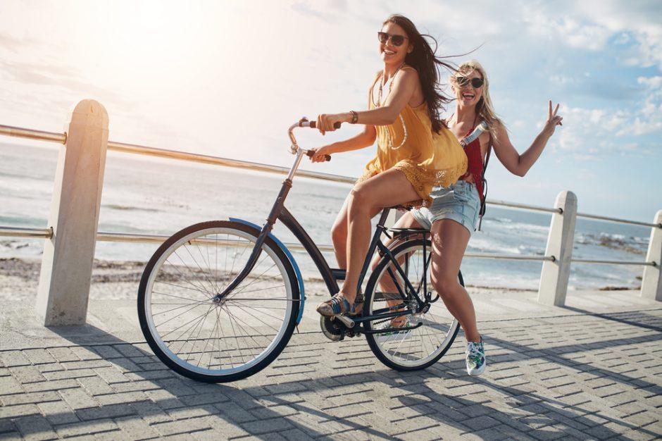 Los sorprendentes beneficios de ir en bicicleta por la ciudad
